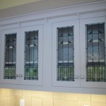 Arts & Crafts Style Cabinets for private residence in Osterville.
