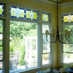 Series of transom panels for a private residence in Centerville, MA.