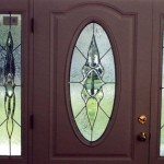 Classic Victorian style. Bevels and gluechip glass for private residence in Harwich, Mass.